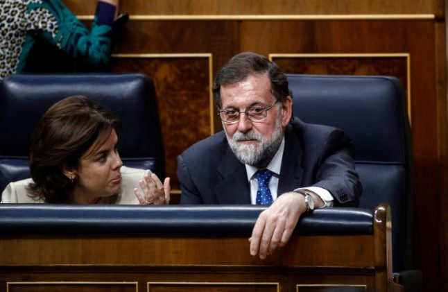 Spain lawmakers finally approve long-delayed 2017 budget (despite Rajoy accidentally voting against it)