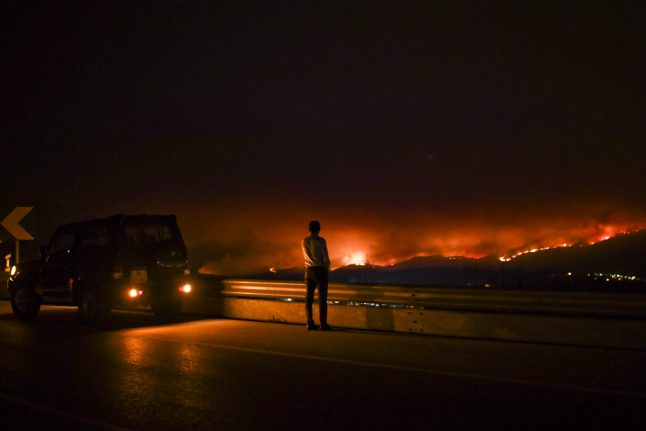 Spain dispatches help to Portugal after deadly forest fire