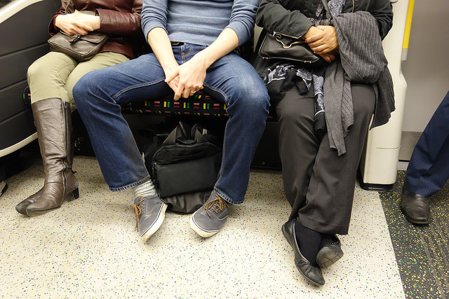 Madrid just banned 'manspreading' on all public transport
