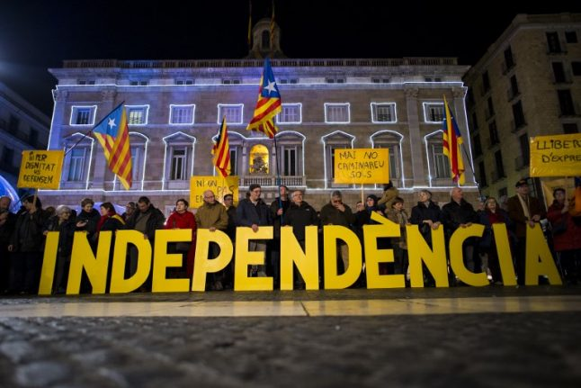 Catalonia will hold October referendum on independence from Spain