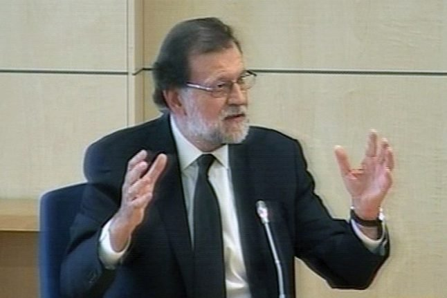 Rajoy: 'I never dealt with party financial matters'