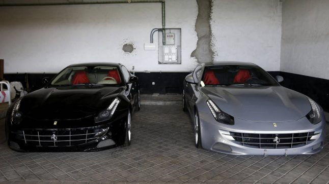 Second time lucky: Spain's royal Ferraris finally get buyers