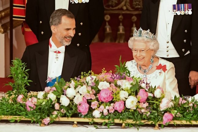 Queen speaks of 'resilient spirit of cooperation and goodwill' between UK and Spain