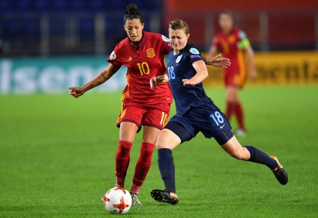 Football: England sink Spain to close in on quarters