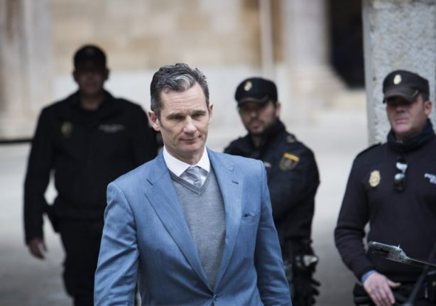 Jail term for King Felipe's brother-in-law could rise to ten years