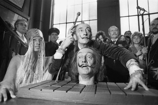 Dalí exhumation: 'His moustache remains intact – pointing in the ten-past-ten position'
