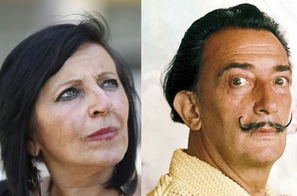 Salvador Dali to be exhumed July 20th for paternity test