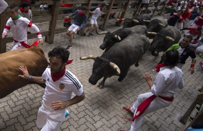 One million people expected in Pamplona for bull run