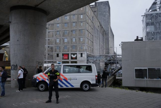 Dutch probe Spanish van laden with gas canisters after terror tip