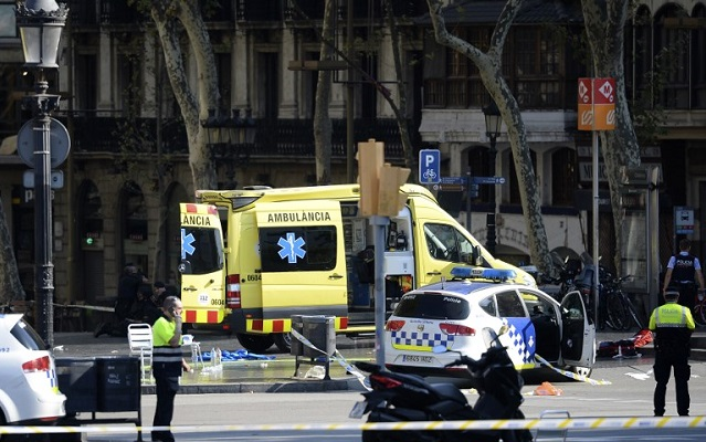 As it happened: Two arrested and one suspect dead after 13 killed in terror attack on Barcelona's Las Ramblas