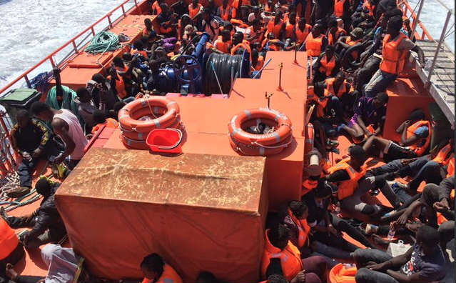 Spain rescues 600 migrants at sea in just one day
