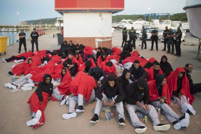 Spain poised to top Greece in migrant sea arrivals this year