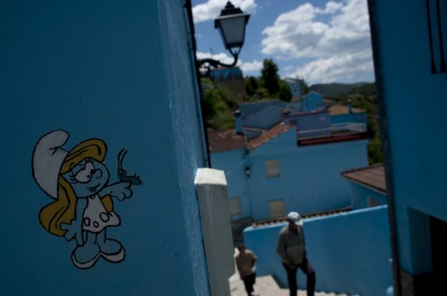 Smurfs evicted from Spain's blue 'Smurf village' after row over royalties