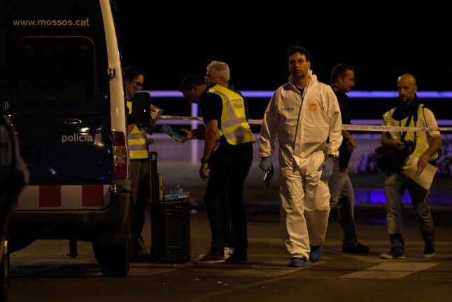 Five terrorists dead after second attack in resort south of Barcelona injures seven