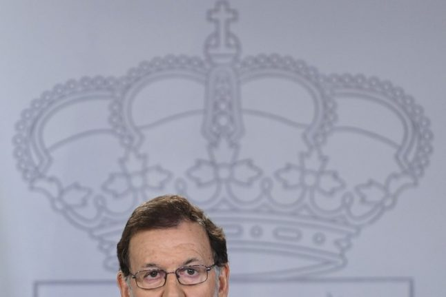 Rajoy brands Catalan referendum an 'intolerable act of disobedience'