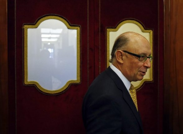 Spain's treasurer threatens to penalize companies that pay tax to Catalonia and not Spain