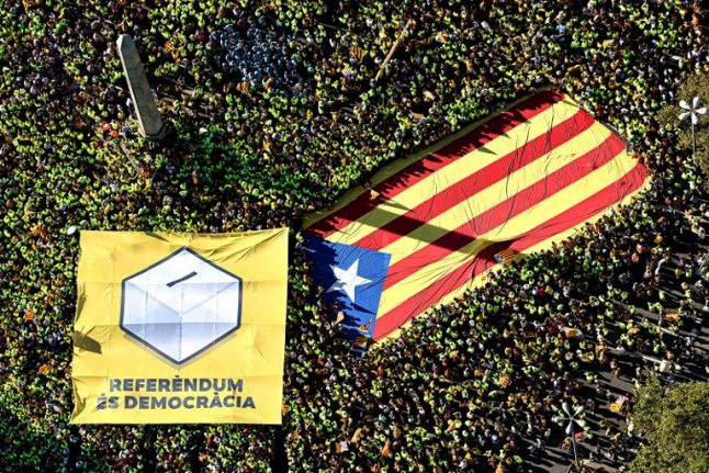 Catalonia to launch campaign for independence referendum