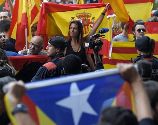 'Oppressive climate' for media freedom in Catalonia ahead of referendum: report