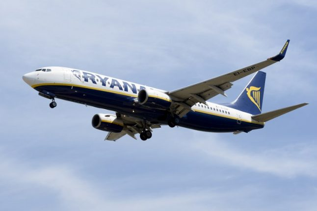 Dozens of Spanish flights grounded in Ryanair cancellation chaos