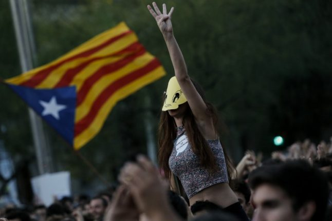 Catalan police warn of public disorder if polling stations are closed on referendum day