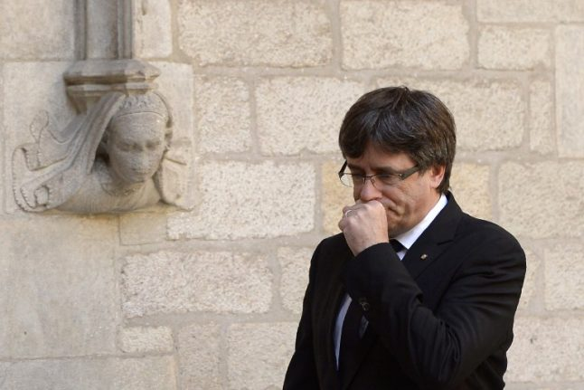 Madrid has imposed 'de facto' state of emergency in Catalonia