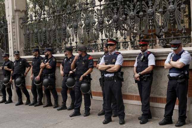 Tourists warned to be careful in Catalonia this weekend