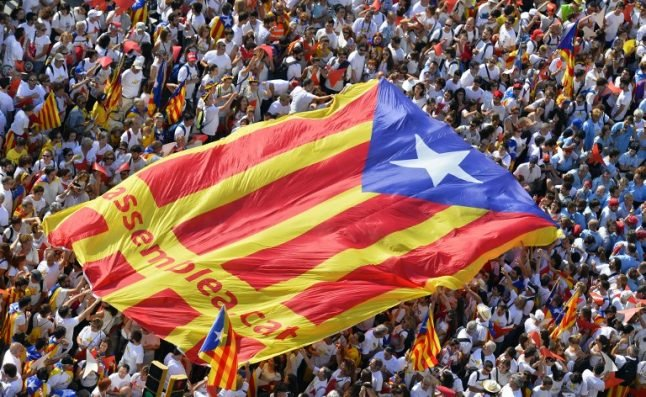 La Diada: Giant crowd expected to rally for Catalan independence