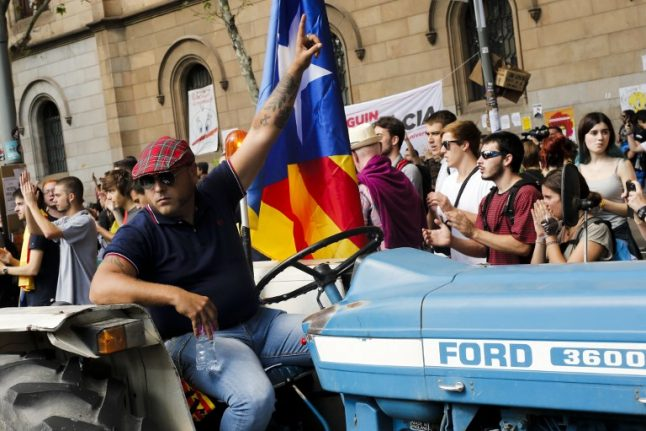 Spain heads for showdown over Catalan independence referendum