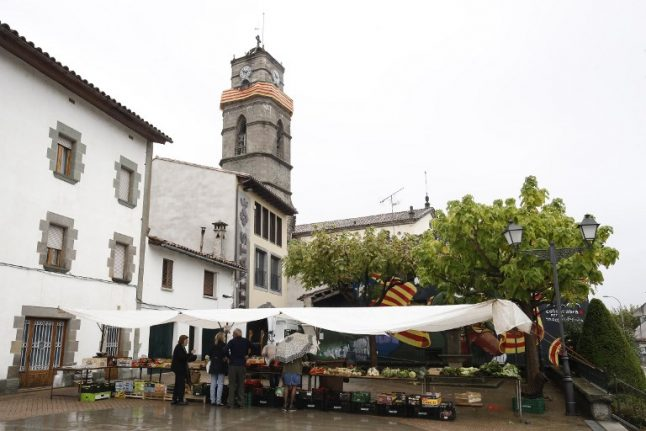 Welcome to Catalonia's most pro-independence town