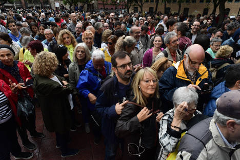 Crunch time as Catalonia holds independence vote