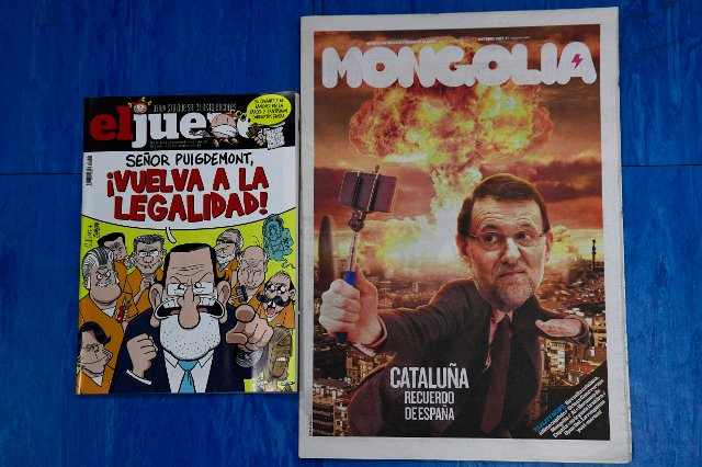 Spanish humorists try to find a funny side to Catalonia crisis