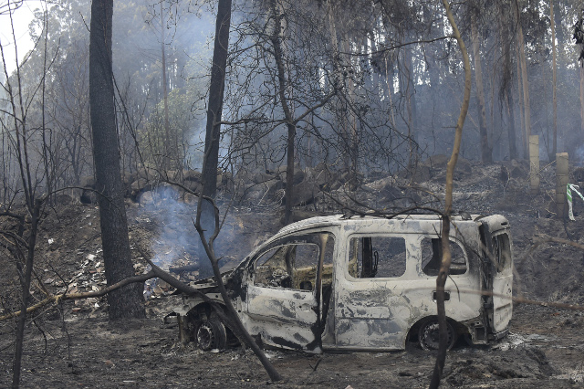 'This was provoked': Spanish PM Rajoy blames arsonists for deadly wildfires