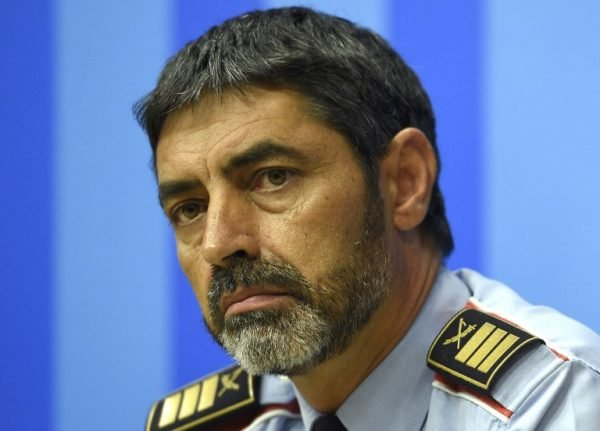 Catalan police chief investigated for alleged 'sedition'