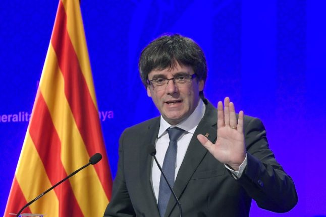 Catalan president says he will declare independence by early next week