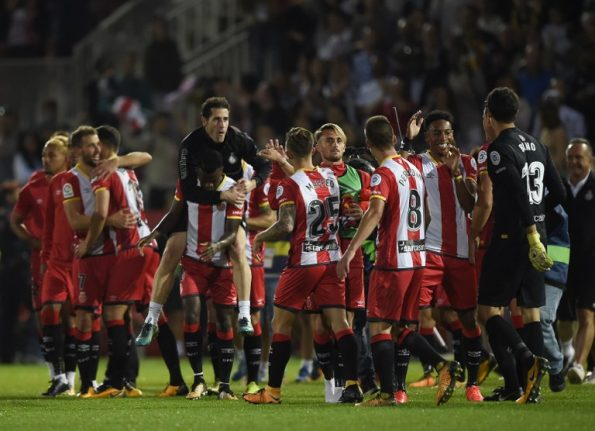 Newly-promoted Catalan side Girona inflict symbolic victory on Real Madrid