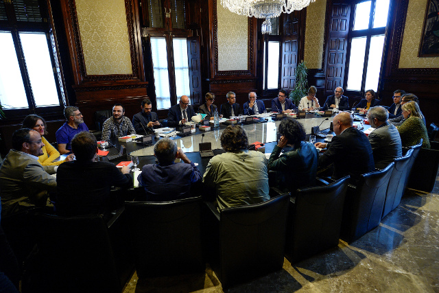 Catalan parliament to decide next steps before Madrid votes on dismissing Puigdemont