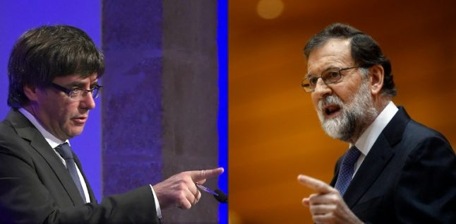 Are the Spanish government and the former Catalan authority in secret negotiations?