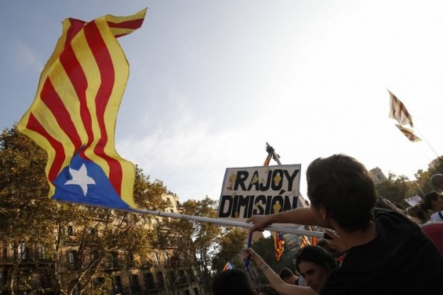 Catalan crisis deepens after Spanish king condemns independence bid