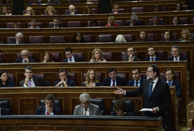 'The situation is exceptional and the consequences very serious': Rajoy asks Senate to remove Catalan government