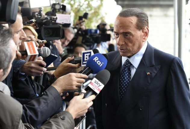 Berlusconi says he wouldn't have sent police to block Catalan vote