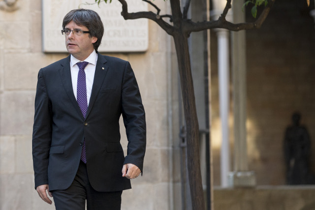 Decision time for Puigdemont on Catalan independence push
