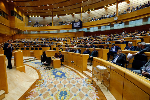 Spain's Senate approves powers to remove Catalan government