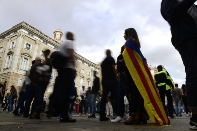 Spain seizes control of 'independent' Catalonia