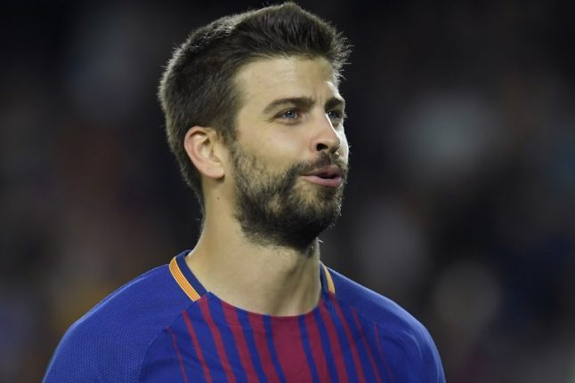 Football: Proud Pique a lightning rod in Catalonia chaos