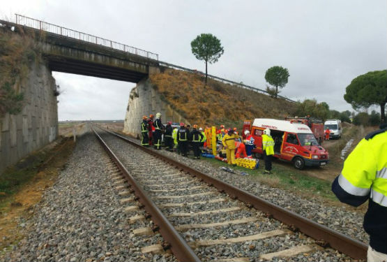 Train derails between Malaga and Seville: At least seven injured