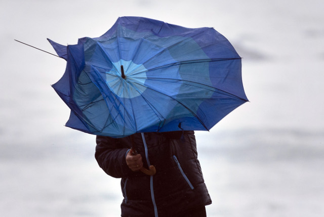 Eight metre waves and gale force winds rock Spain