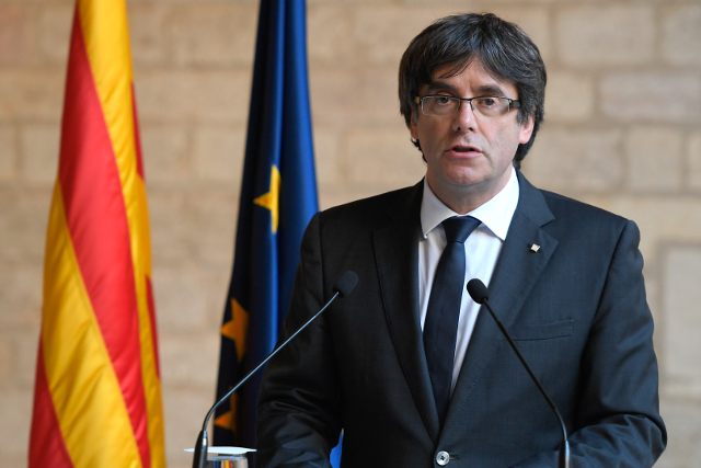 Catalonia crisis will end in international courts, Puigdemont insists
