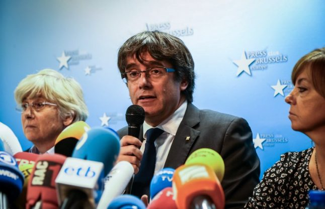 Sacked Catalan president accuses Spain of being undemocratic