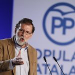 Rajoy vows to defeat pro-independence parties in Catalan election