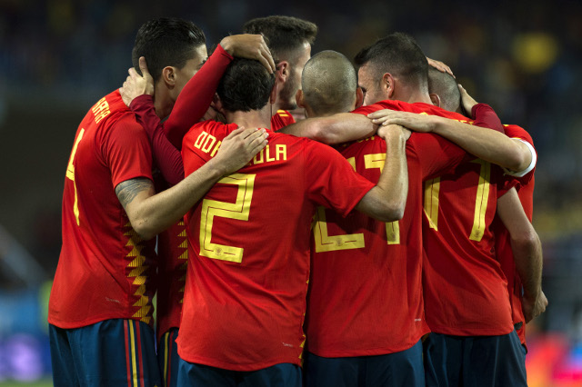 Spain now sixth best team in the world according to FIFA rankings
